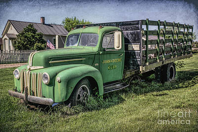 Photograph - Farm Truck by Lynn Sprowl