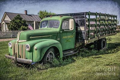 Photograph - Farm Truck by Lynn Sprowl
