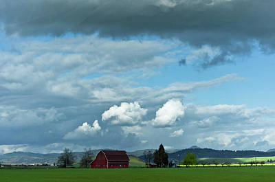 Photograph - Farm Under The Sky by Adria Trail