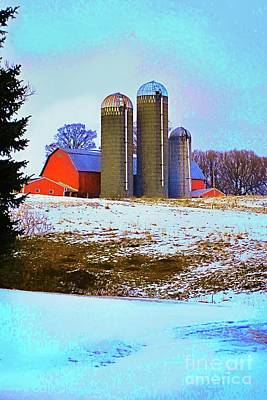 Photograph - Farm Up Yander by Linda Simon