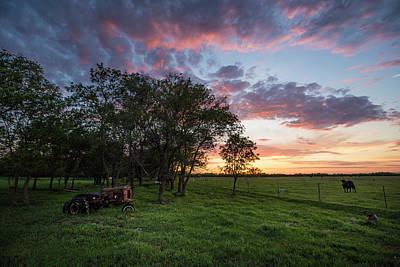 Farm View  Art Print