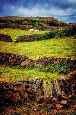 Photograph - Farm Walls In Old Ireland by Debra and Dave Vanderlaan