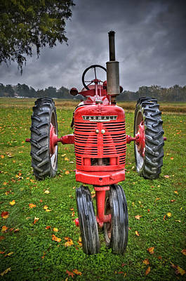 Photograph - Farmall 1 by Williams-Cairns Photography LLC