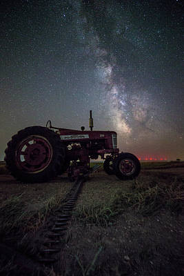 Photograph - Farmall by Aaron J Groen
