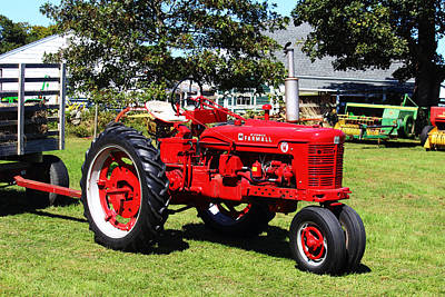 Farmall At The Country Fair Art Print by Andrew Pacheco