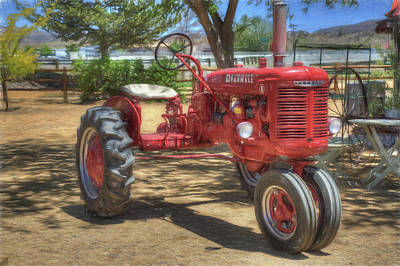 Photograph - Farmall by Donna Kennedy