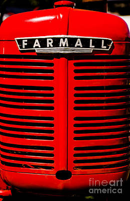 Farmall Grill Art Print by Sherman Perry