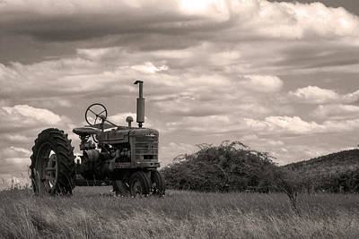 Photograph - Farmall by Michael Friedman