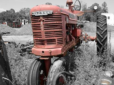 Farmall Red Art Print