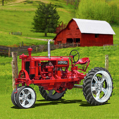 Photograph - Farmall Special by Mike McGlothlen