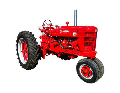 Photograph - Farmall Super M  by Olivier Le Queinec