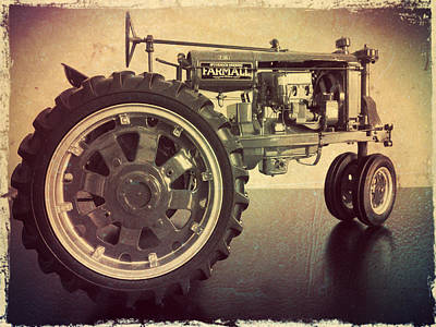 Farmall Tractor Art Print
