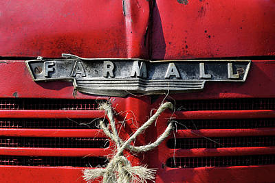 Photograph - Farmall Tried And True by Luke Moore
