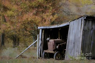Photograph - Farmall Tucked Away by Benanne Stiens