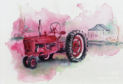 Painting - Farmall by Yoshiko Mishina