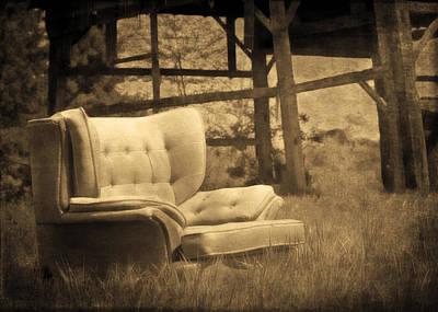 Photograph - Farmchair by Hal Halli