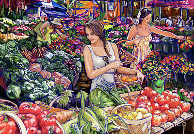 Painting - Farmer Market H by Tim Gilliland