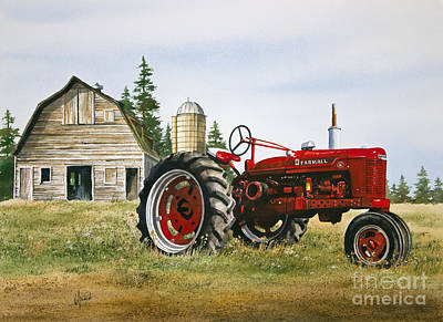 Williamson County Painting - Farmers Heritage by James Williamson