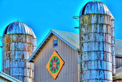 Photograph - Farmers Hex Symbol by Bluemoonistic Images