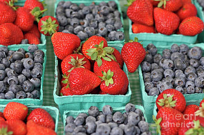 Photograph - Farmer's Market Berries by Bruce Block