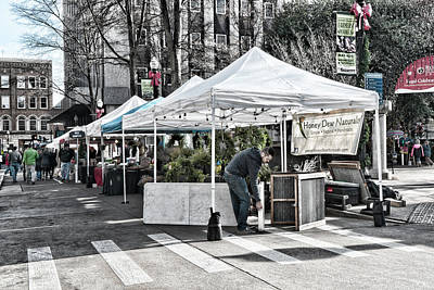 Photograph - Farmers Market Christmas by Sharon Popek