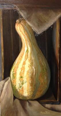 Farmers Market Gourd Original by Norma Torti