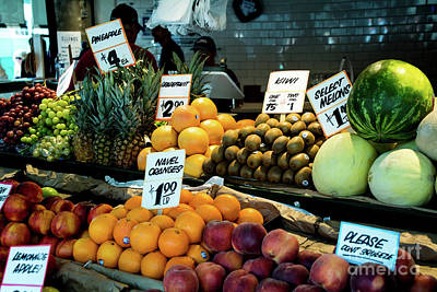 Photograph - Farmers Market II by Deborah Klubertanz