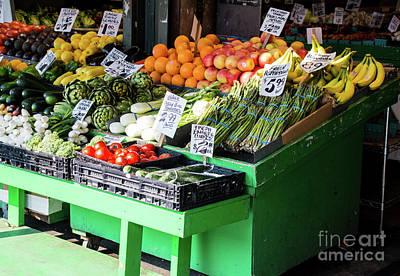 Photograph - Seattle's Farmers Market  by Deborah Klubertanz