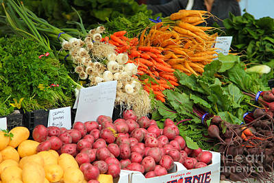 Photograph - Farmer's Market by Jeanette French