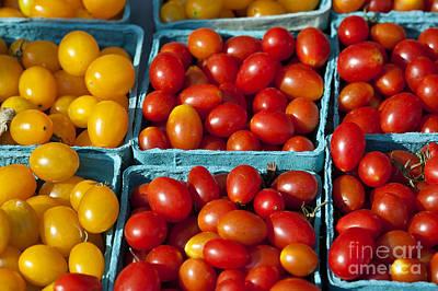 Tomatoe Wall Art - Photograph - Farmers Market by John Greim