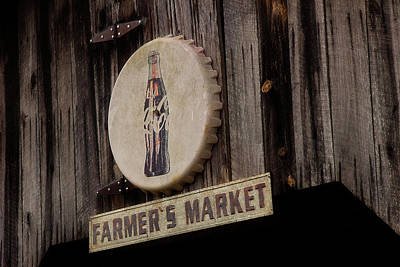 Photograph - Farmer's Market Sign by Mike Eingle