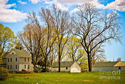 Photograph - Farmhouse Across The Meadow by Colleen Kammerer