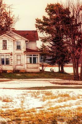 Photograph - Farmhouse By A Lake by Jill Battaglia