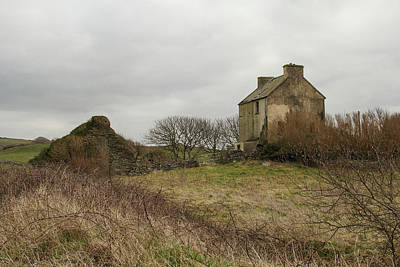 Photograph - Farmhouse In County Clare by Marie Leslie