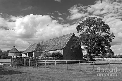 Photograph - Farmhouse In The English Countryside by Julia Gavin