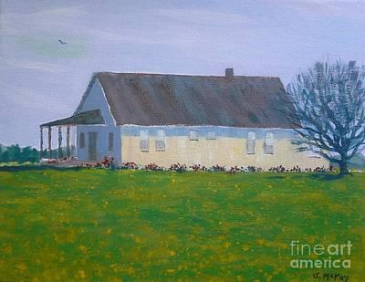 Painting - Farmhouse In Winlock Washington by Suzanne McKay
