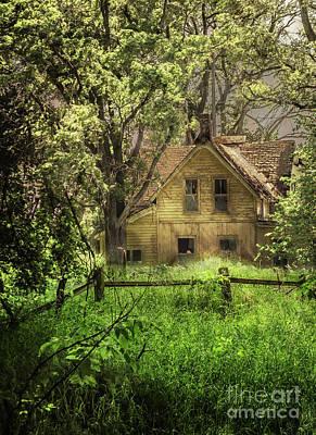 Photograph - Farmhouse by John Anderson