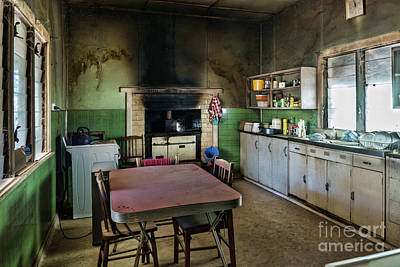 Photograph - Farmhouse Kitchen by Stuart Row