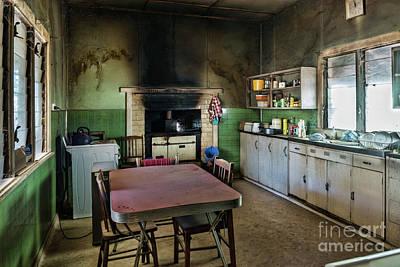 Photograph - Farmhouse Kitchen by Stuart Row