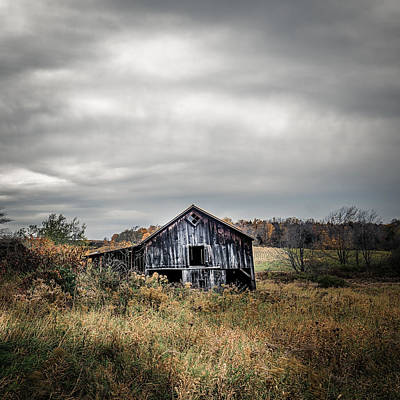 Photograph - Farmhouse Memories - Barn by Chris Bordeleau