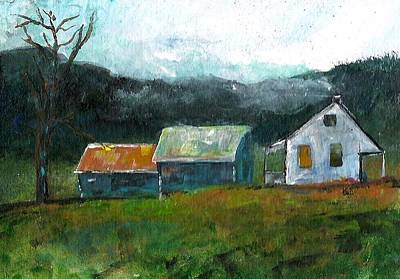 Painting - Farmhouse by Michele Carter
