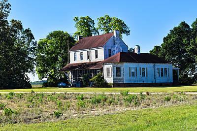 Photograph - Farmhouse Morning by Linda Brown