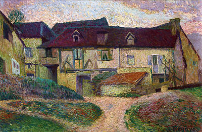 Painting - Farmhouse. Namur by Dario de Regoyos