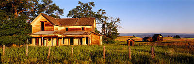 Farmhouse On A Landscape, Imbler, Union Art Print by Panoramic Images