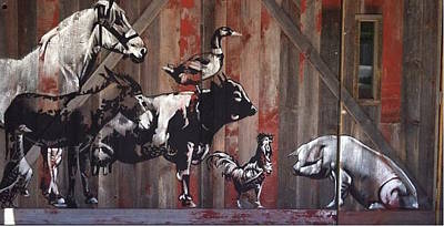 Reuse Painting - Farmhouse by Scott Bullock