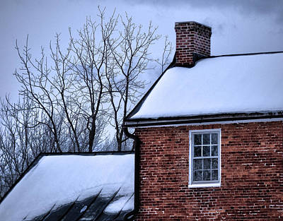 Art Print featuring the photograph Farmhouse Window by Robert Geary
