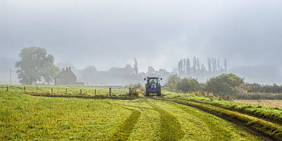 Photograph - Farming In Clackmannan by Jeremy Lavender Photography