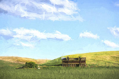 Artwork Digital Art - Farming In Washington II by Jon Glaser