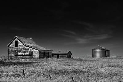 Photograph - Farming Life Mono 1 by Celine Pollard