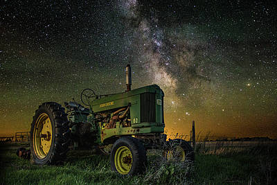 Milky Way Wall Art - Photograph - Farming The Rift 3 by Aaron J Groen